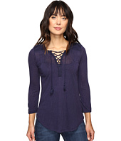 Lucky Brand - Lace Front Peasant