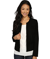 Lucky Brand - Fringe No Closure Jacket