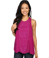 Lucky Brand - Pop Color Embroidered Tank Top