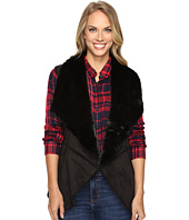 Lucky Brand - Faux Shearling Waterfall Vest