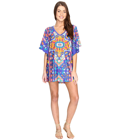Trina Turk Tapestry Tunic Cover-Up - Multi