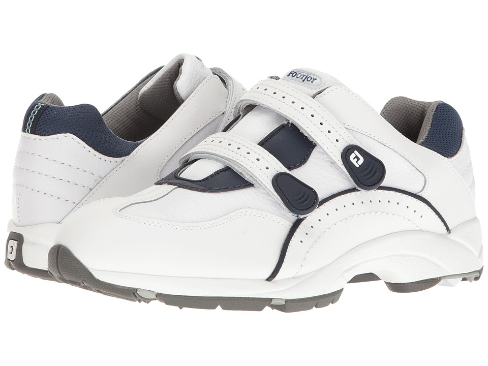 FootJoy - Golf Specialty Spikeless Leather Athletic (White) Mens Golf Shoes