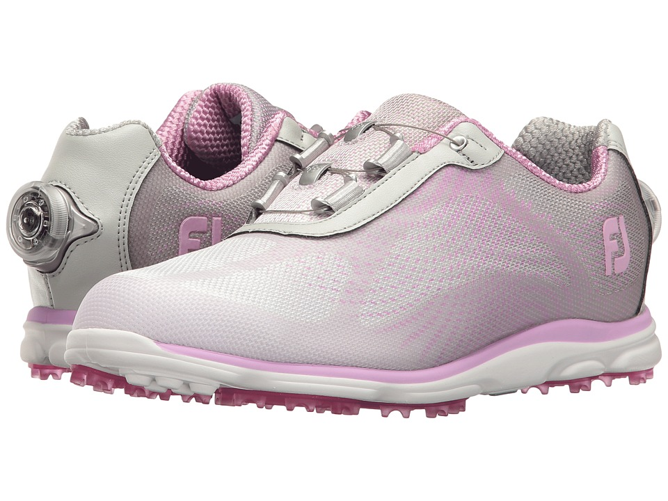 FootJoy Empower Spikeless Sublimated BOA (Silver/Lilac) Women