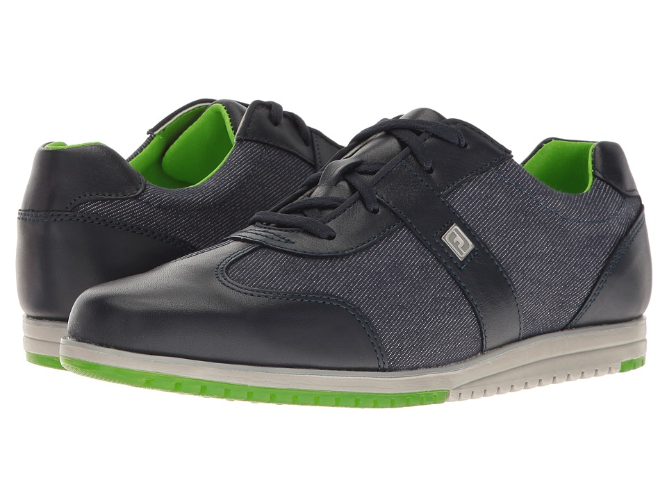 FootJoy Spikeless Casual Collection T-Toe U-Throat (Midnight/Denim Fabric) Women