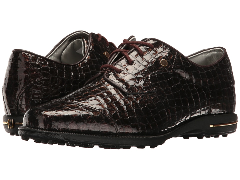 FootJoy Tailored Bal (Bronze Print) Women's Golf Shoes