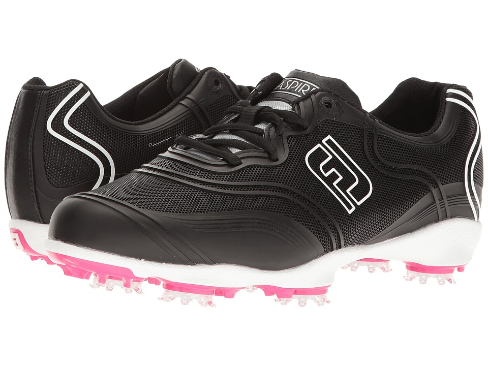 FootJoy Aspire Cleated Full Flexgrid (Black) Women's Golf Shoes