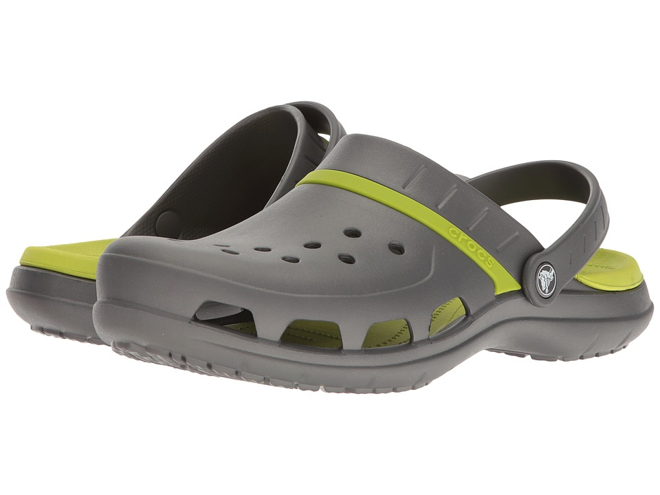 Crocs - Modi Sport Clog (Graphite/Volt Green) Sandals
