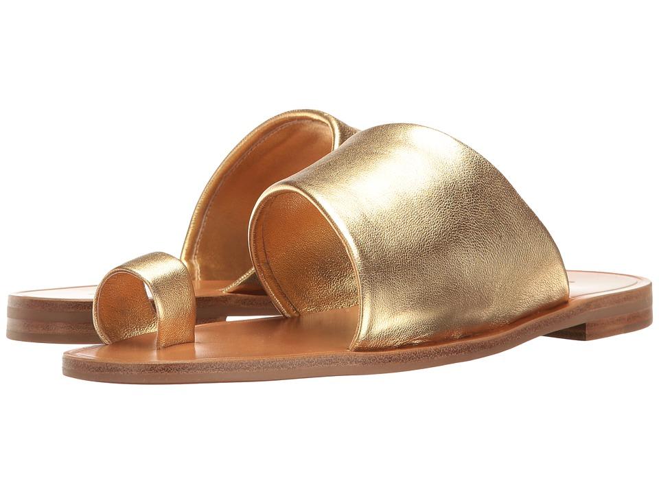 Diane von Furstenberg Ello (Gold Metallic Nappa) Women