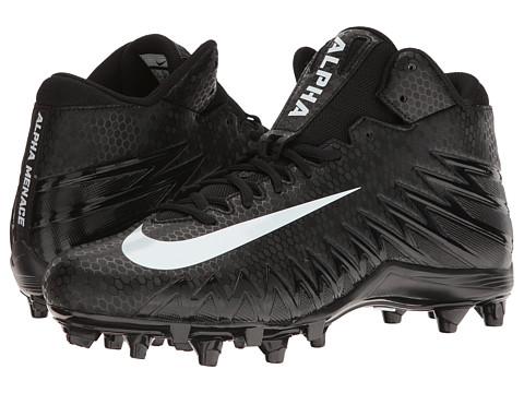 Nike Alpha Menace Varsity Mid - Black/White/White