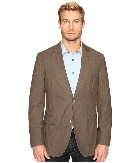 Kroon Taylor Two-Button Coat - Taupe