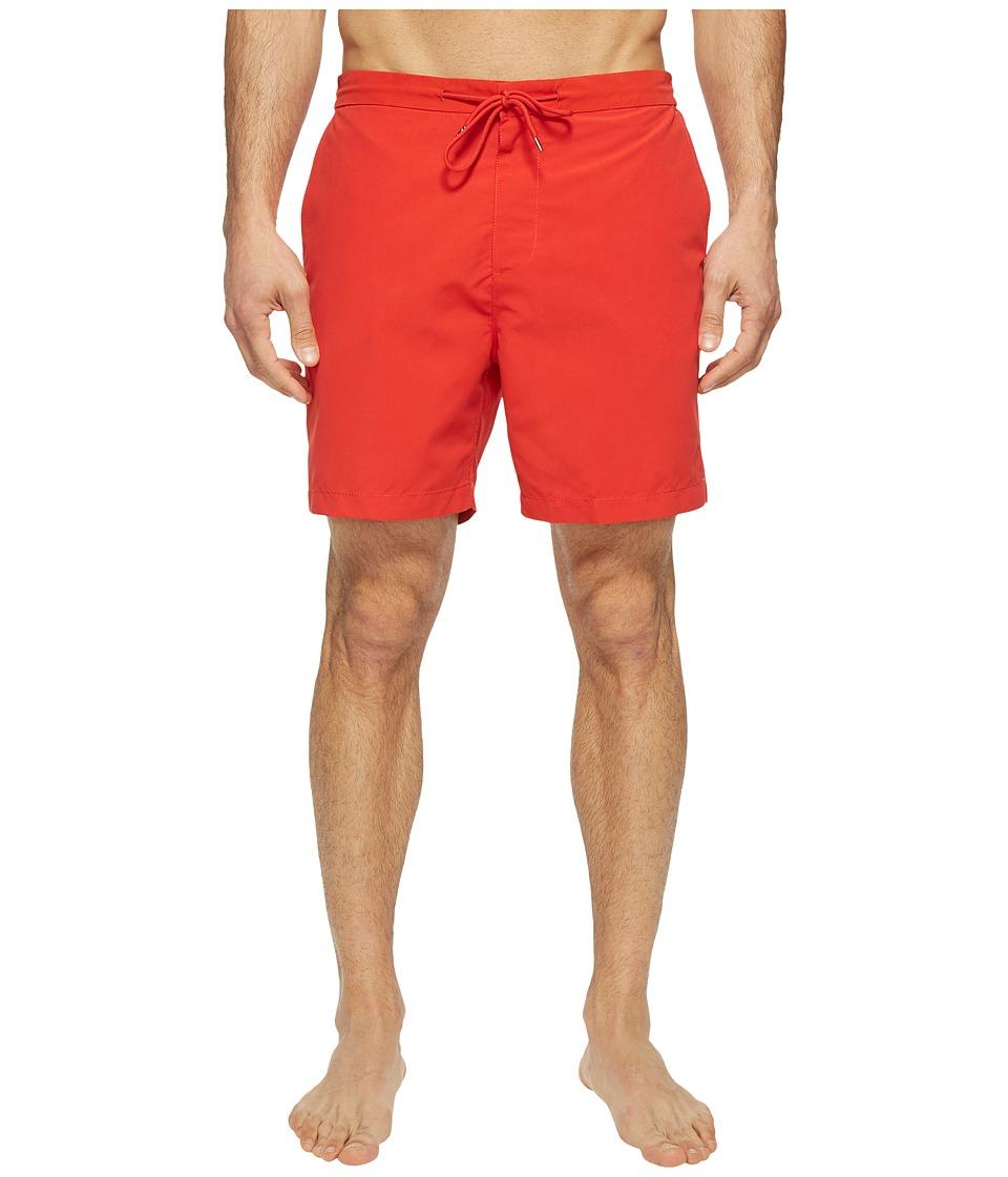 Jack Spade Elasticated Boardshorts (Red Orange) Men