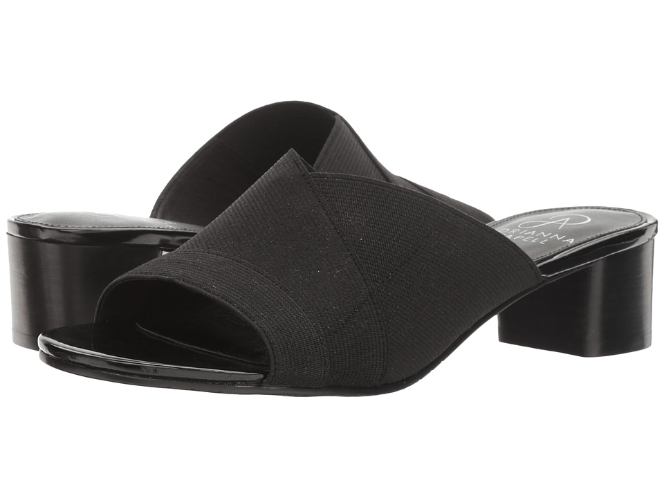Adrianna Papell - Theresa (Black Waldo Stretch) Women's Sandals