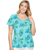 Extra Fresh by Fresh Produce - Plus Size Off Shore Luna Top