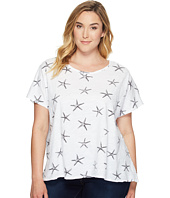 Extra Fresh by Fresh Produce - Plus Size Sea Star Keepsake Tee
