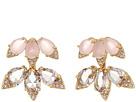 Blushing Blooms Ear Jackets Earrings