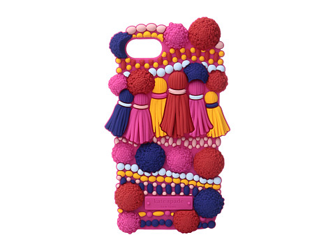Kate Spade New York Silicone Pom Pom Phone Case for iPhone® 7