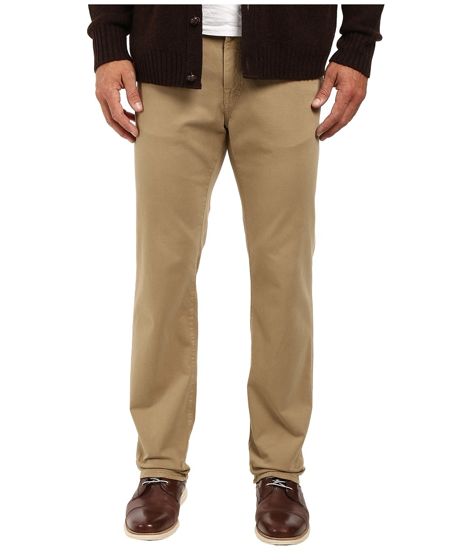 Image of 34 Heritage - Charisma Classic Fit in Khaki Twill (Khaki Twill) Men's Casual Pants