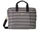 Kate Spade New York - Stripe Nylon Laptop Bag Laptop Case