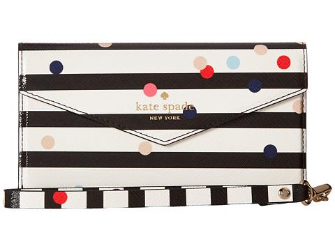 Kate Spade New York Confetti Dot Envelope Wristlet Phone Case for iPhone® 7