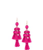 Kate Spade New York - Pretty Poms Tassel Statement Earrings