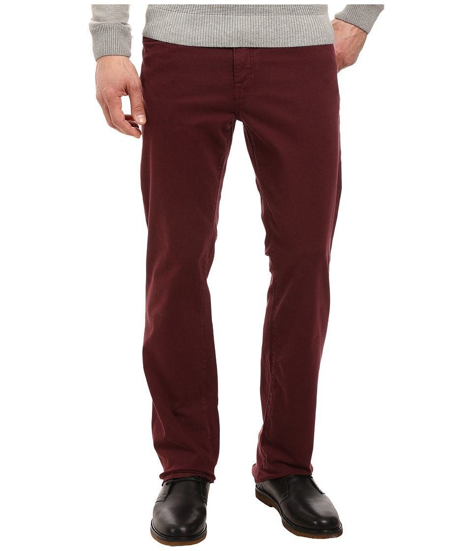 Image of 34 Heritage - Charisma Classic Fit in Burgundy Twill 34 Inseam (Burgundy Twill) Men's Casual Pants