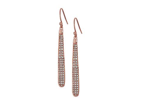 Kate Spade New York Shine On Pave Linear Earrings