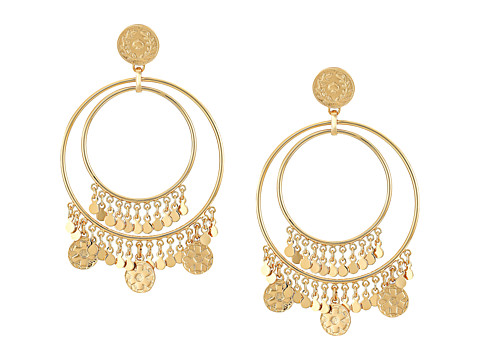 Kate Spade New York Flip A Coin Statement Earrings