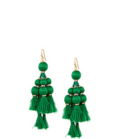 Kate Spade New York - Pretty Poms Tassel Statement Earrings