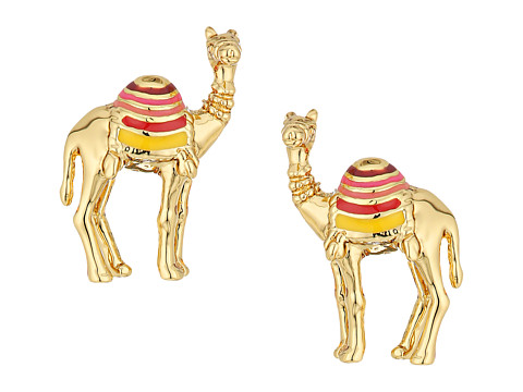 Kate Spade New York Spice Things Up Camel Studs Earrings