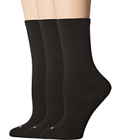 HUE - Massaging Sole Socks 3-Pack