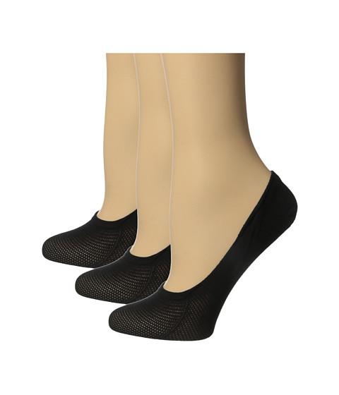 HUE Cotton Mesh Liner 3-Pack - Black