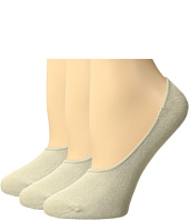 HUE - Cotton Socks Liner 3-Pack