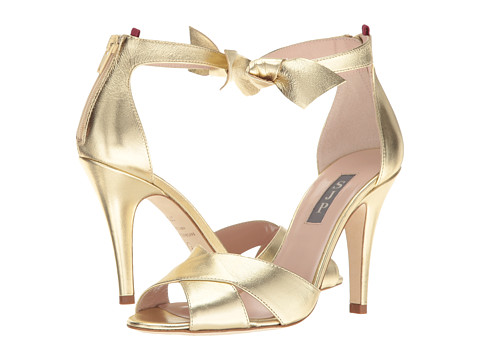 SJP by Sarah Jessica Parker Buckingham - Platino Gold Leather