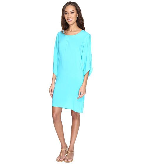 Fresh Produce Escape Dress - Luna Turquoise