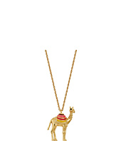 Kate Spade New York - Spice Things Up Camel Mini Pendant Necklace
