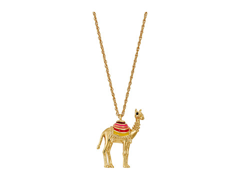 Kate Spade New York Spice Things Up Camel Mini Pendant Necklace