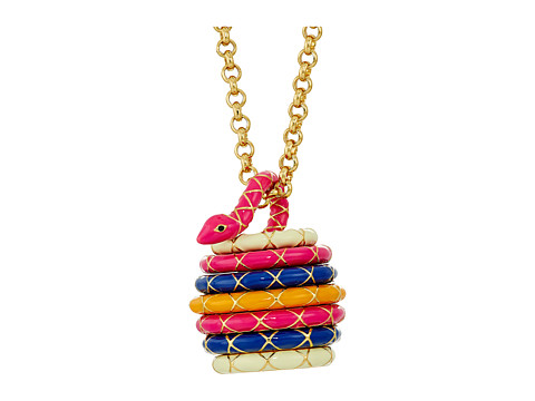 Kate Spade New York Spice Things Up Snake Locket Necklace
