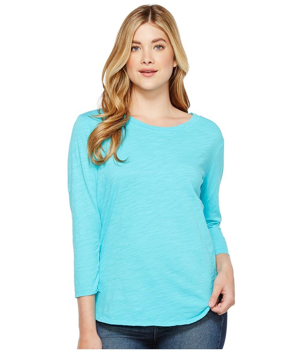 Fresh Produce - Catalina Shirt (Luna Turquoise) Womens Clothing