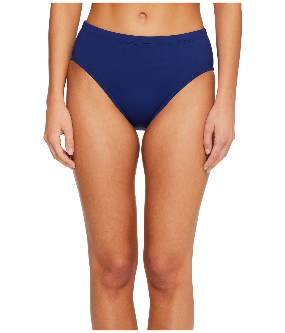 La Blanca - Island Goddess High Waist Pants with Tummy Toner (Midnight) Womens Swimwear