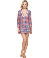 La Blanca - Corsica Tile V-Neck Tunic Cover-Up