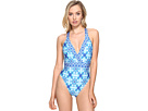 La Blanca True Surpliced Cross-Back One-Piece