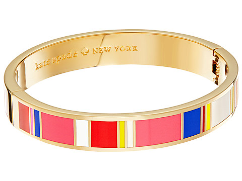 Kate Spade New York Idiom Bangles How Charming - Hinged Bracelet