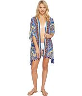 La Blanca - Tapmastery Kimono Cover-Up