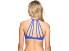 All Meshed Up Strappy Hi-Neck Bra Top