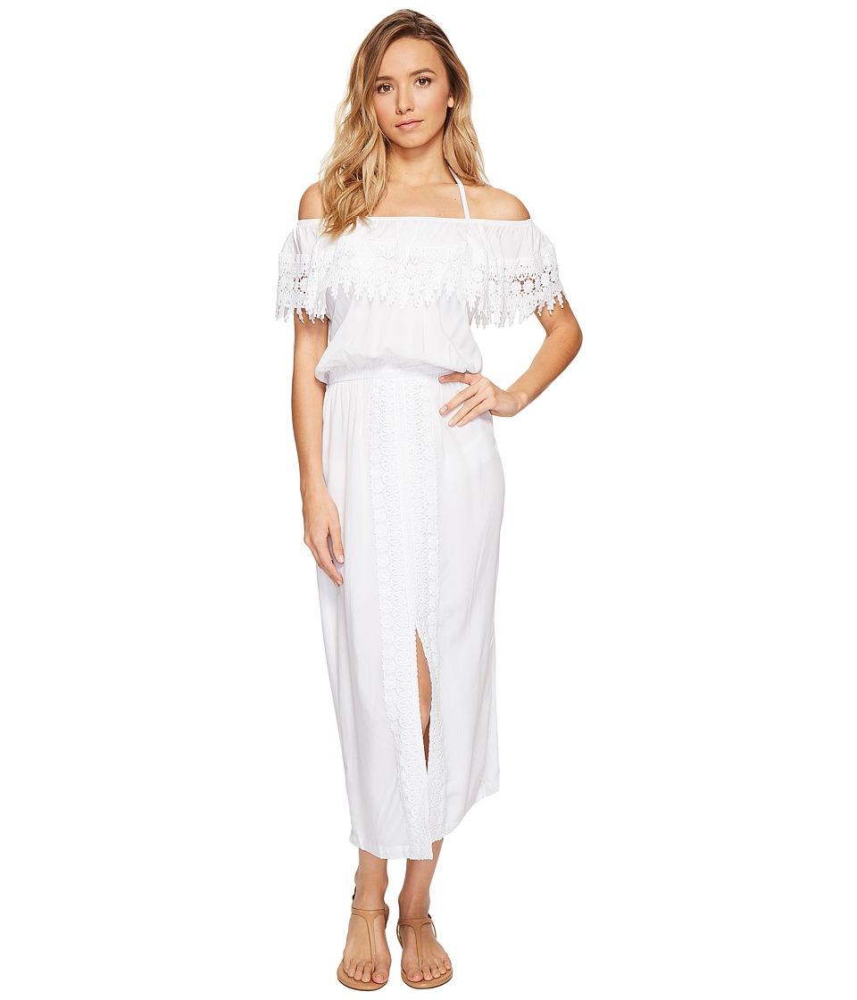 La Blanca - Costa Brava Off the Shoulder Midi Dress Cover