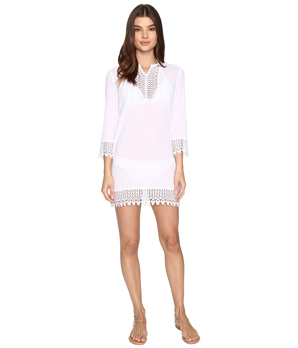 Jantzen Jantzen - Crochet Trim Tunic Cover-Up