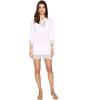 Jantzen - Crochet Trim Tunic Cover-Up