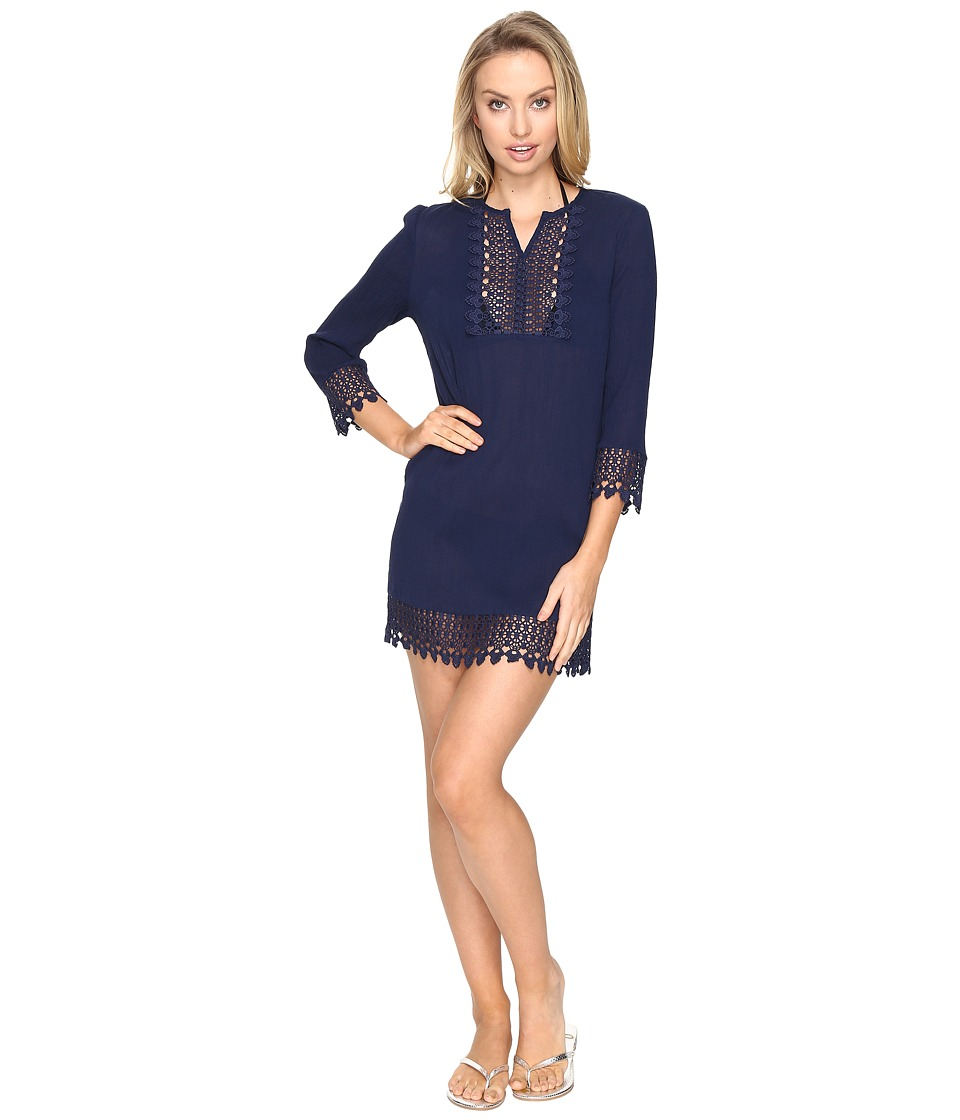 Jantzen - Crochet Trim Tunic Cover