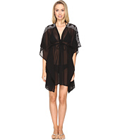 Jantzen - Dahlia's Garden Embroidered Caftan Cover-Up