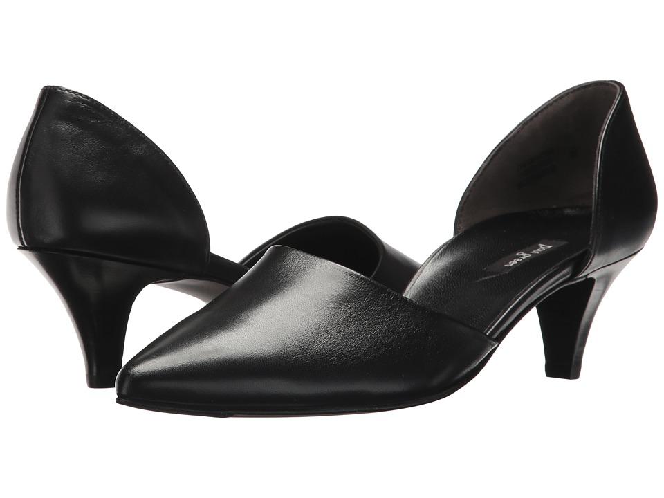 Paul Green - Julia (Black Leather) High Heels